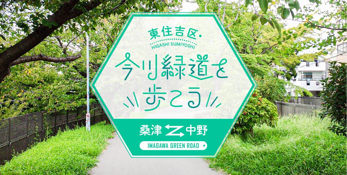 今川緑道を歩こう