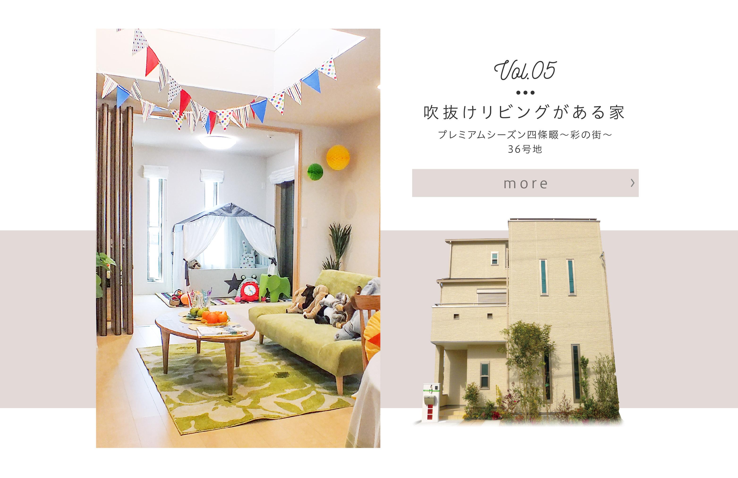 【プレミアムシーズン四條畷〜彩の街〜 36号地】モデルハウスを見る