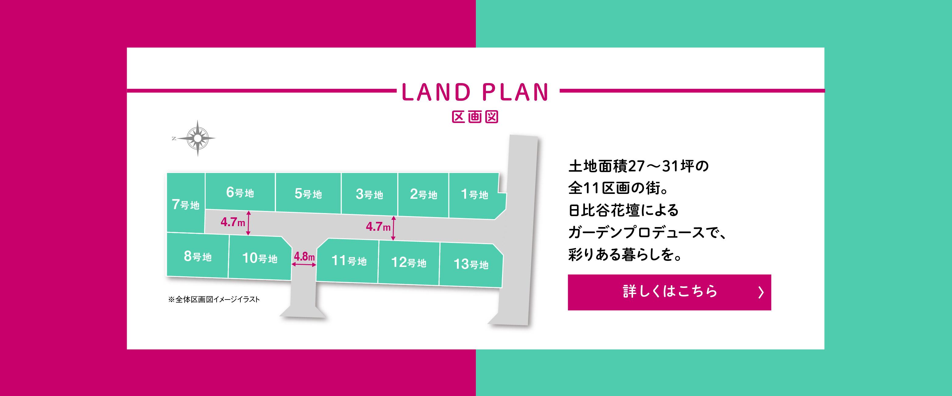 【高槻プレミアム】LAND PLAN